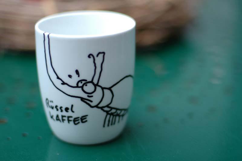 rüsselkäfer mug