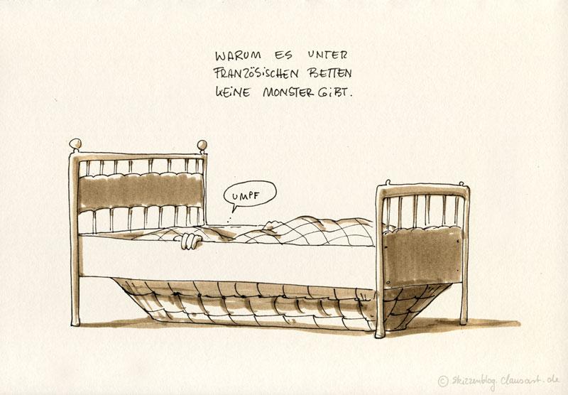 In Fremden Betten Skizzenblog