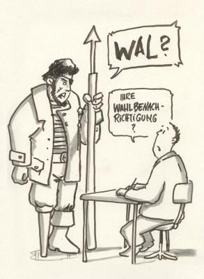 Aus unserem Walfangstudio: