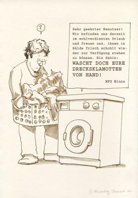 Aufmüpfige Haushalsgeräte