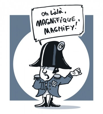 IF:magnify