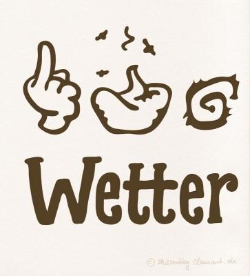 #&%$! Wetter