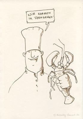 Müsjö, der Hummer und Herr Paul