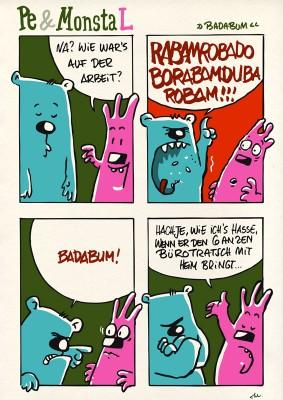 Pe & Monsta L »BADABUM«