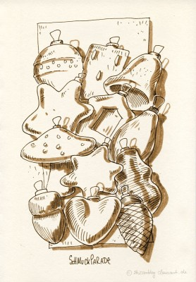 Weihnachtsbaumsschmucks-Sammellssuriumm