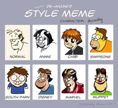 Comic Style MeMe