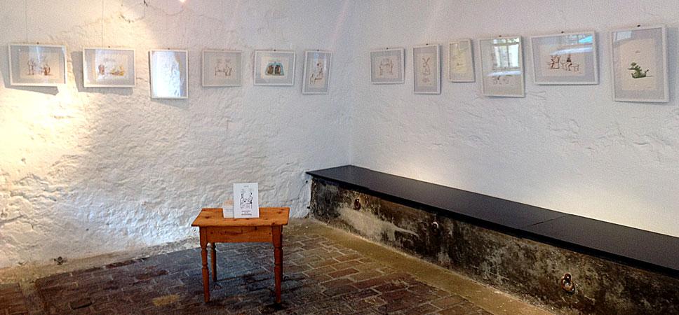 Ausstellung im Stall