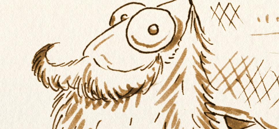 Einbuchstabedanebenfisch