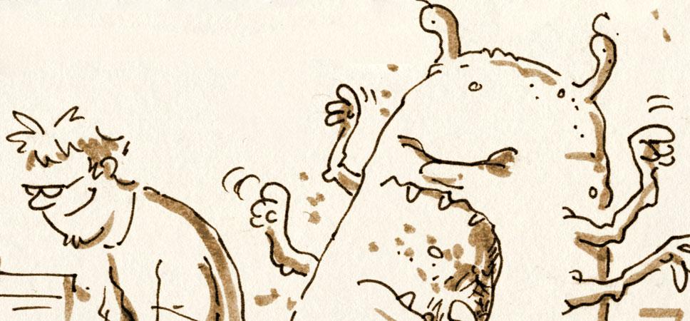 Leben mit Urzitkrebsen<br />»Anständig anstehen«