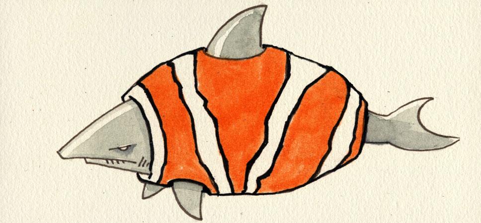 Hai im Fischpelz