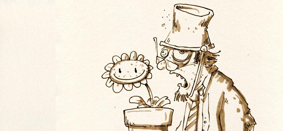 Pflanzen vs Skizzenblog