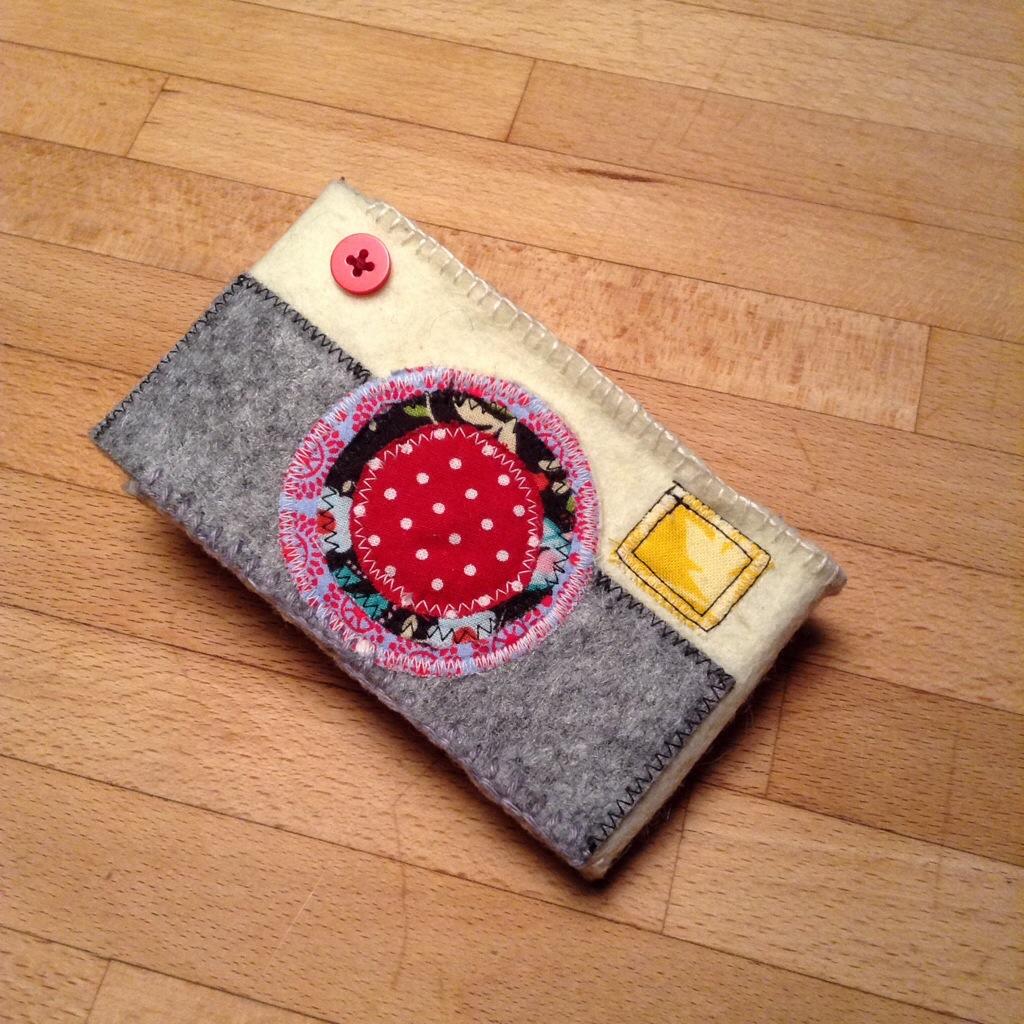 et voilà: Die Kameratasche!