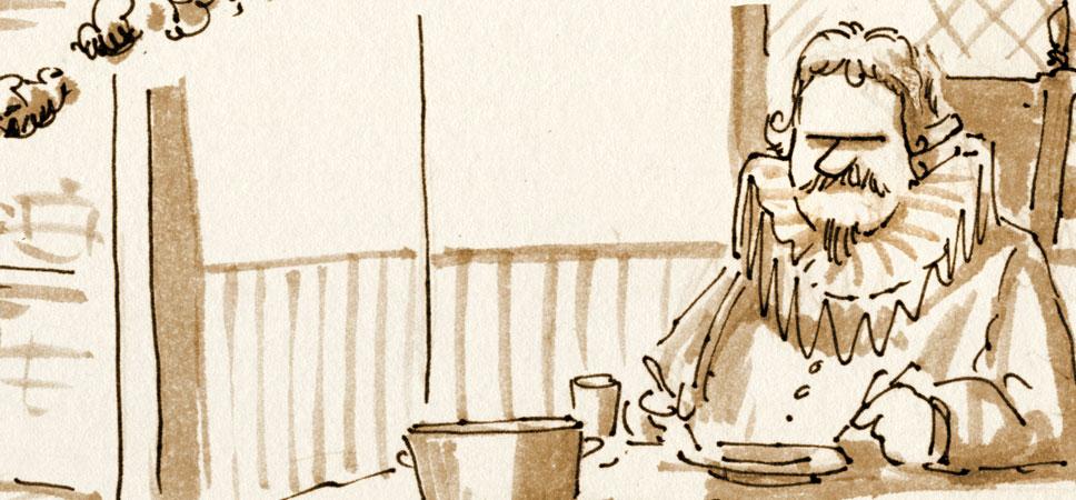 Francis Bacon zum Vierhunderdreiundfünfzigsten!