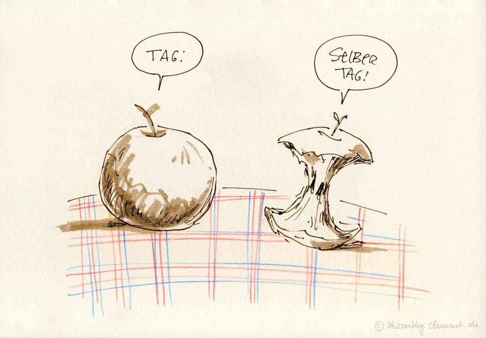 Apfel mit Birnen vergleichen, wo kommwern hin?