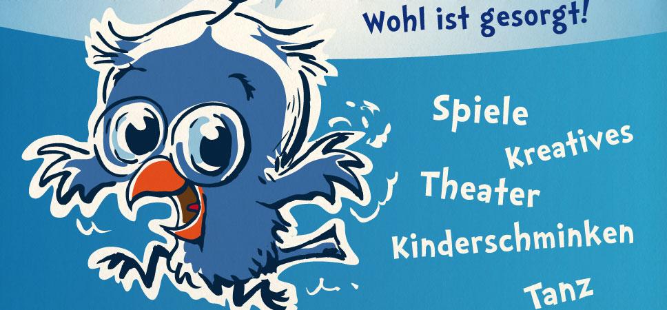 Schulfest – Plakat & Wegweiser