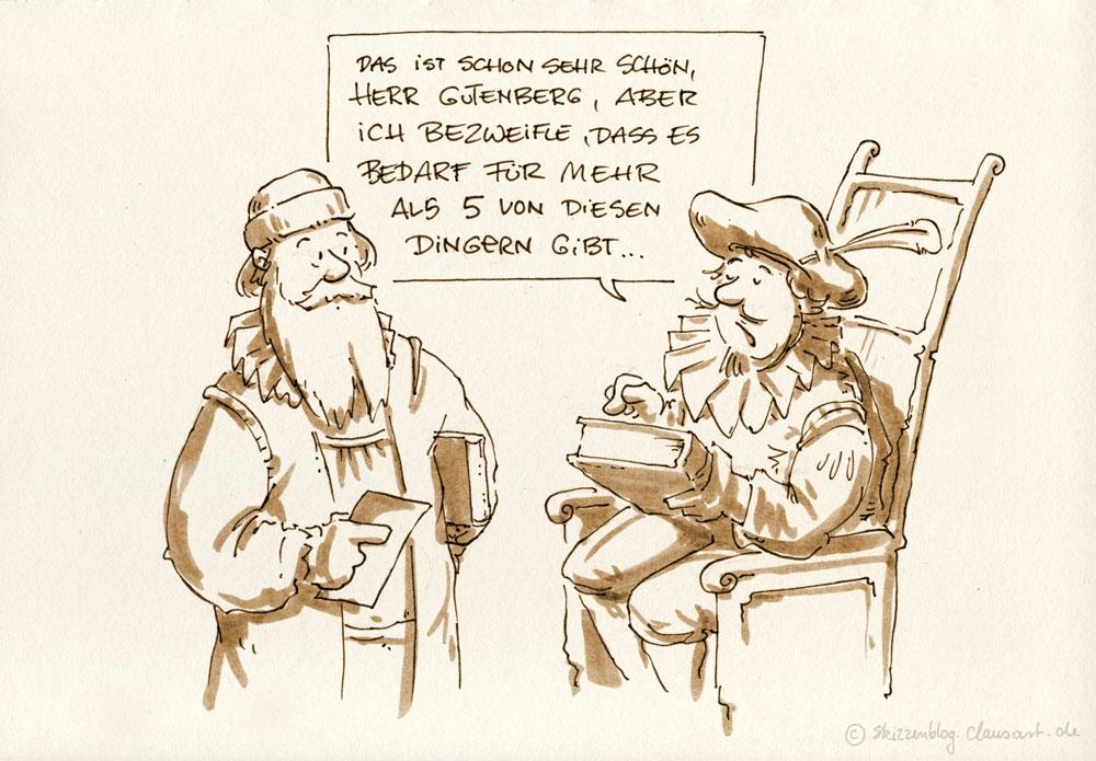Gutchen, Gutenberg!