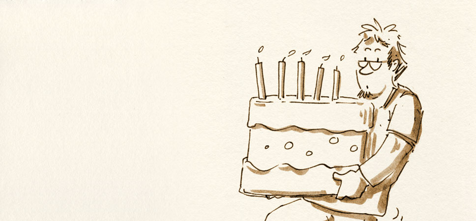 5 Jahre Skizzenblog