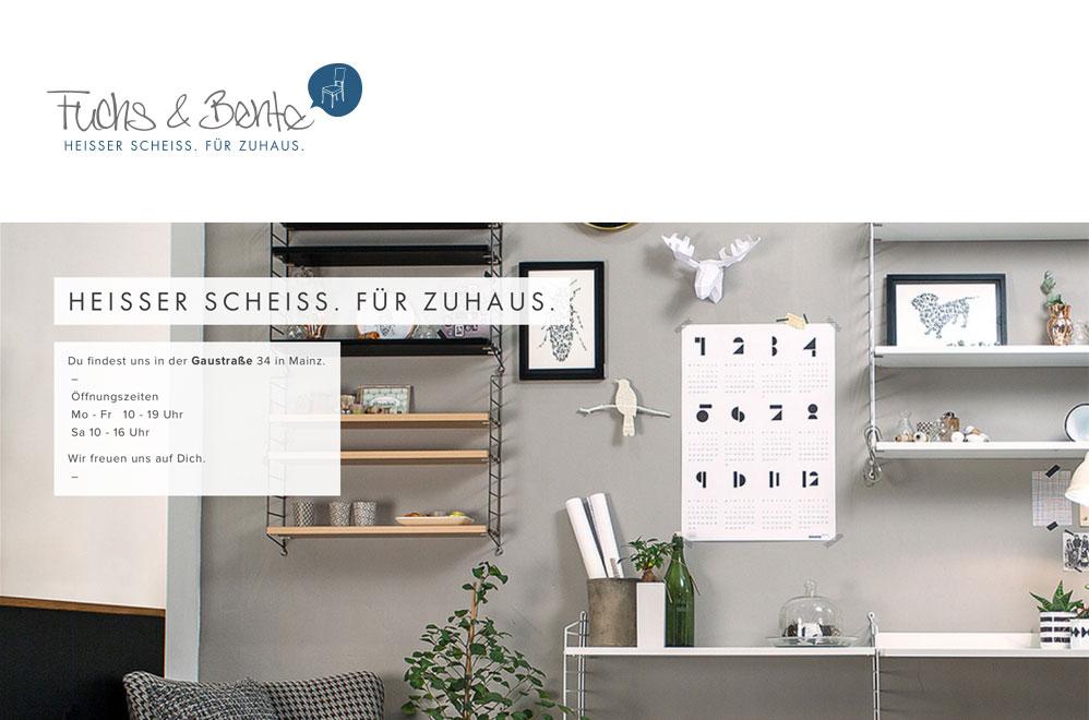 Immer einen Besuch wert: Fuchs & Bente in Mainz, Gaustr. 34