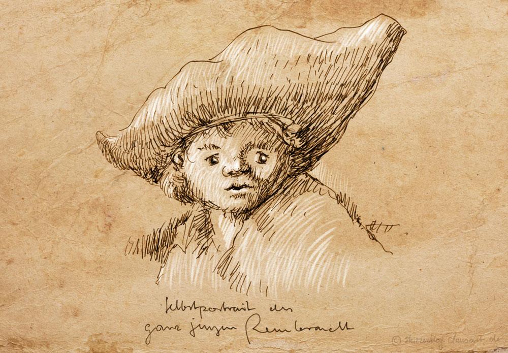 der ganz junge Rembrandt