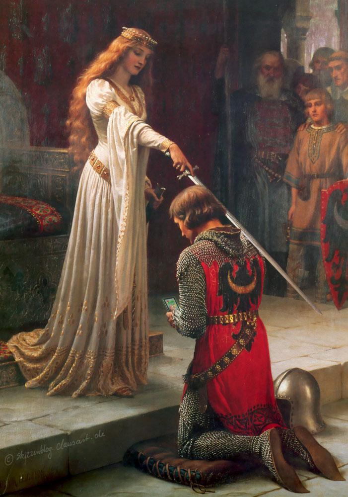 Edmund Blair Leighton - Das Ritterlike