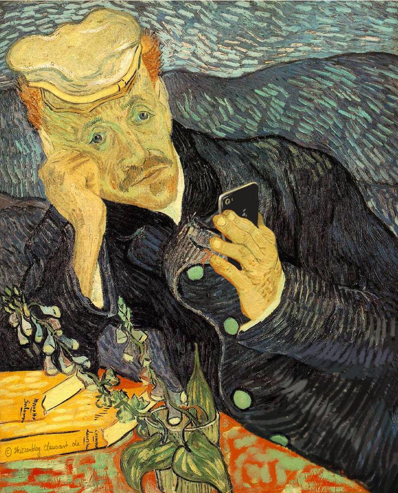 Vincent van Gogh - Le Selfie de Dr. Gachet