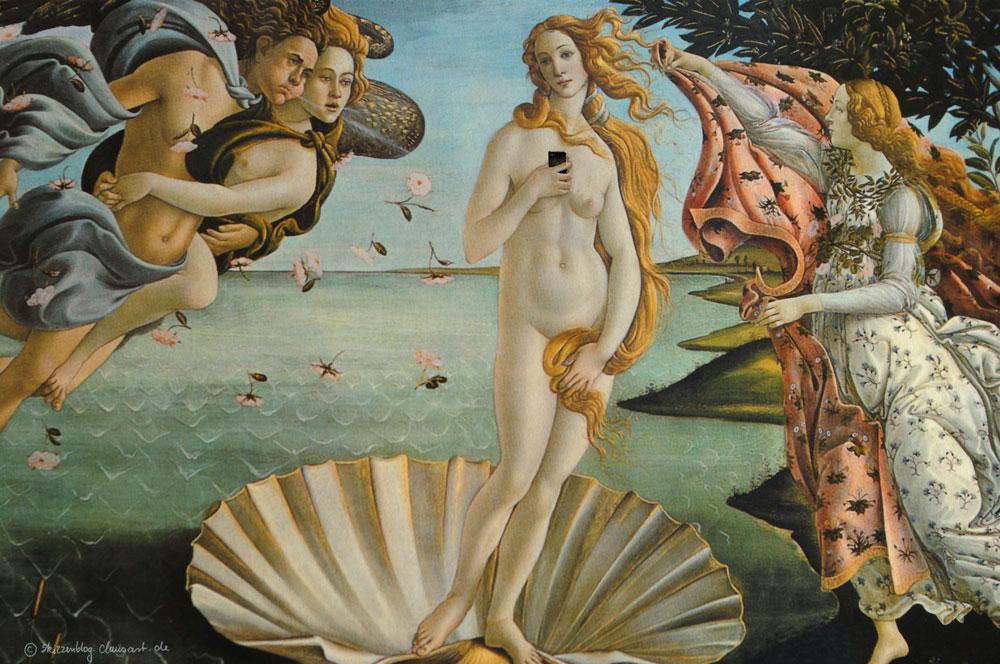 Sandro Botticelli - Das Selfie der Venus