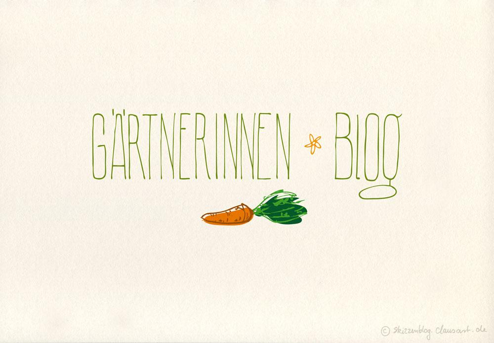 Gärtnerinnenblog Logo