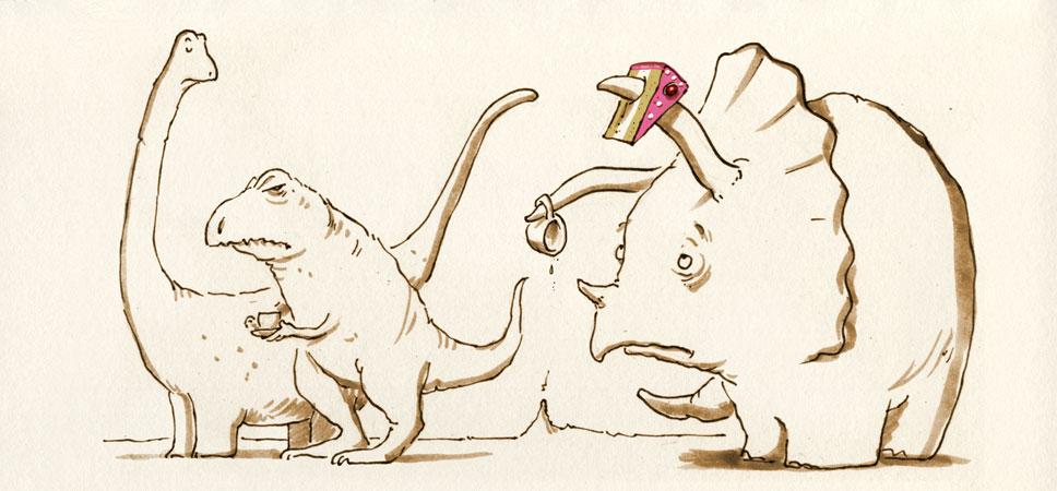 Dino-Kränzchen
