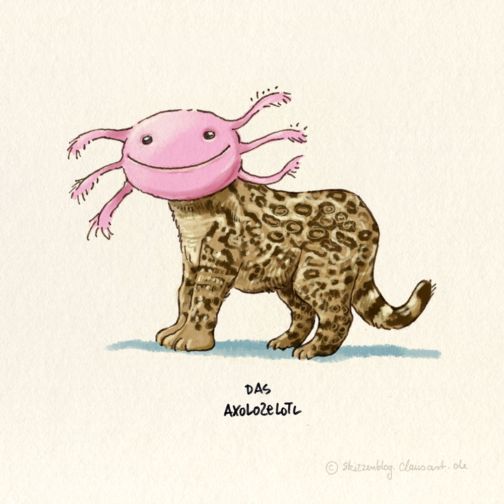Das Axolozelotl