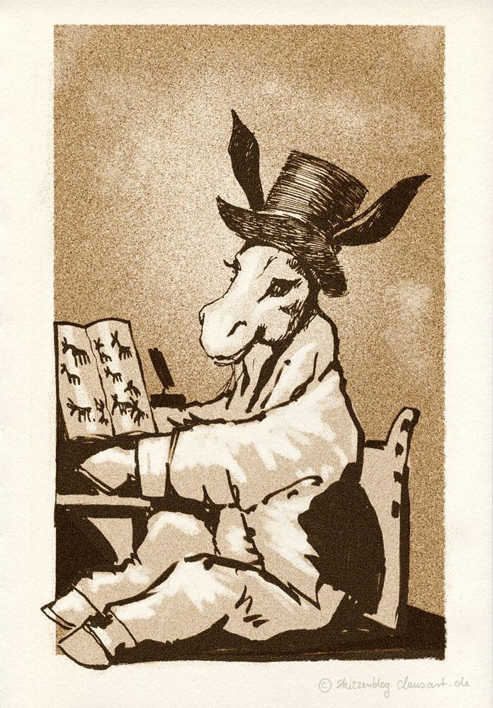 Am 30.03.1746 wurde Francisco de Goya geboren.