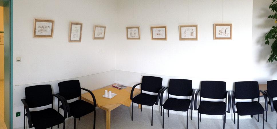 Eine kleine Ausstellung in Mannheim