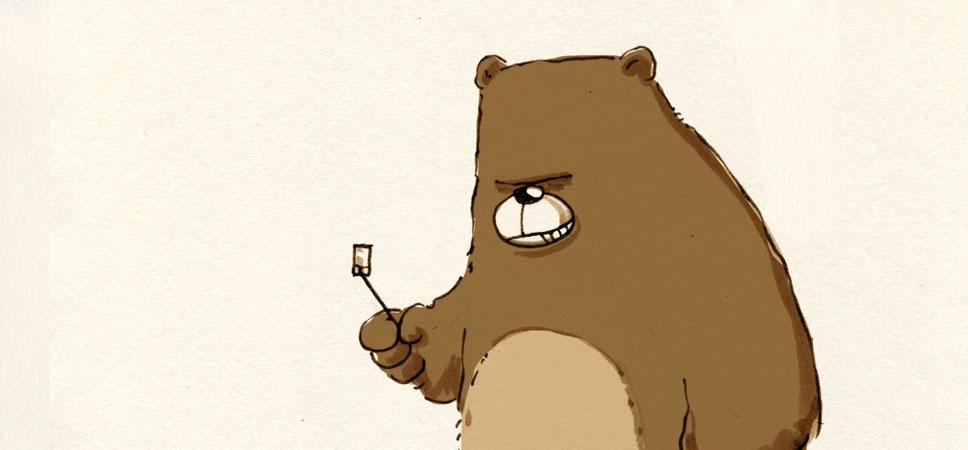 Tiere mit Selfie-Sticks