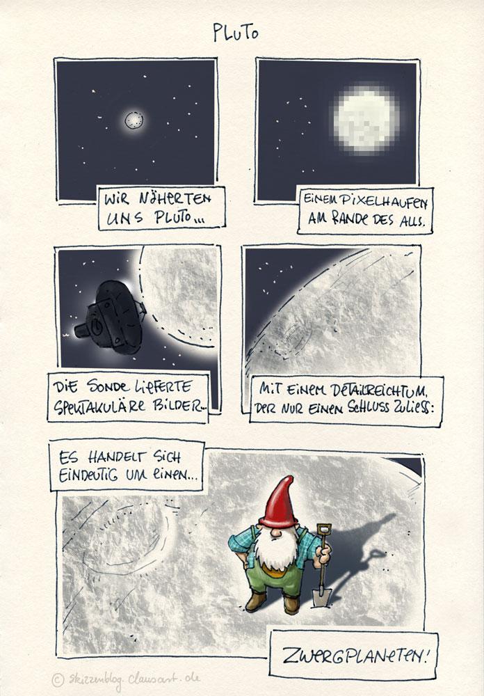 plus tôt Pluto!