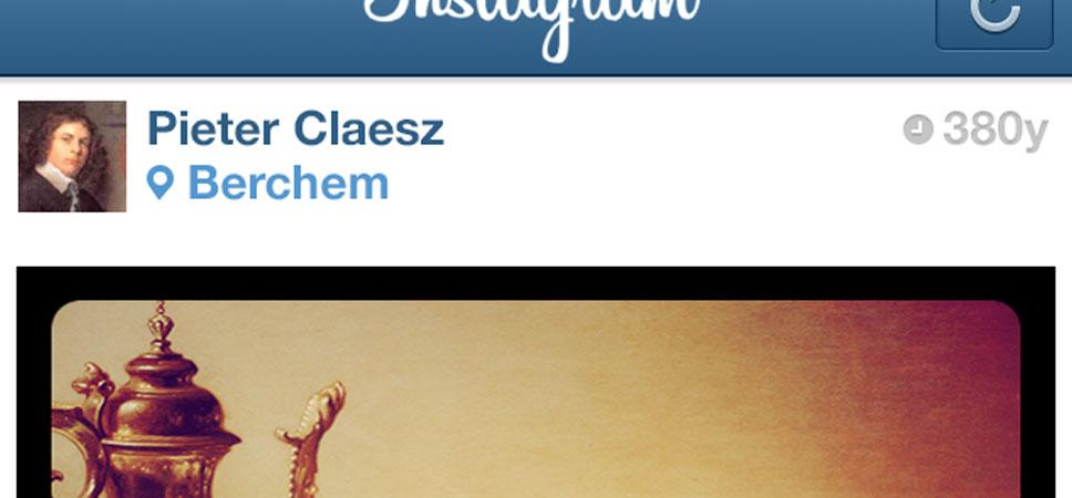 Der Instagramstream von Pieter Claesz