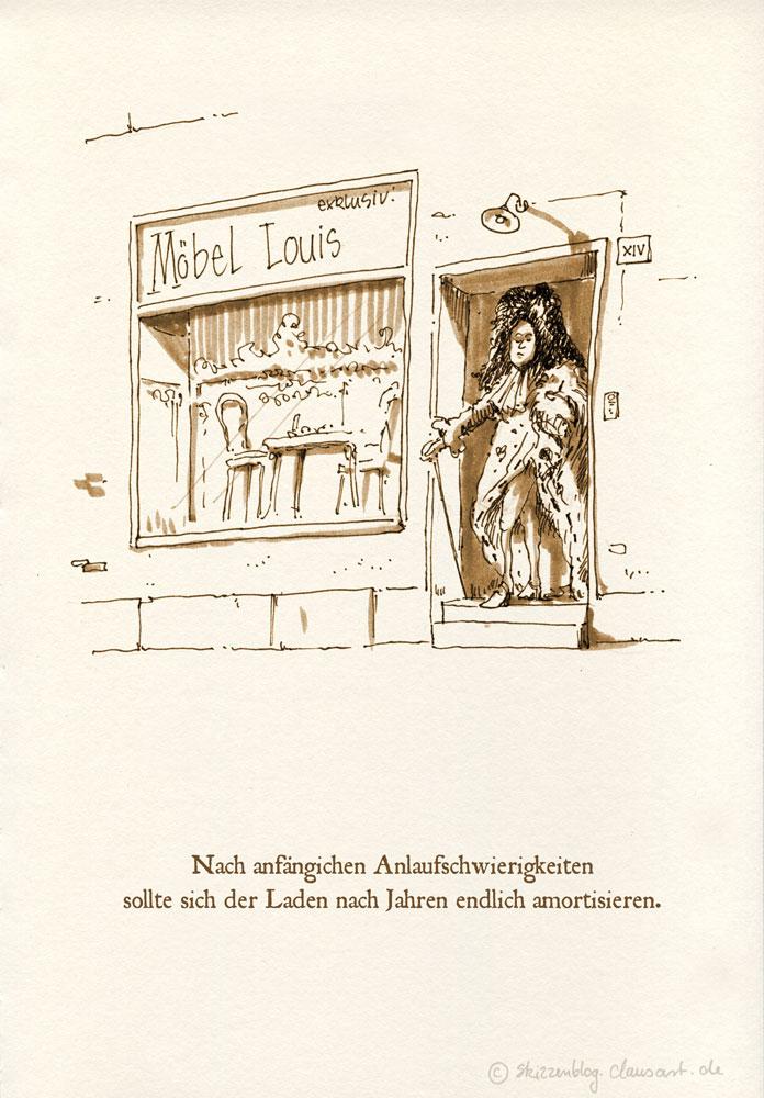 Möbel Louis XIV