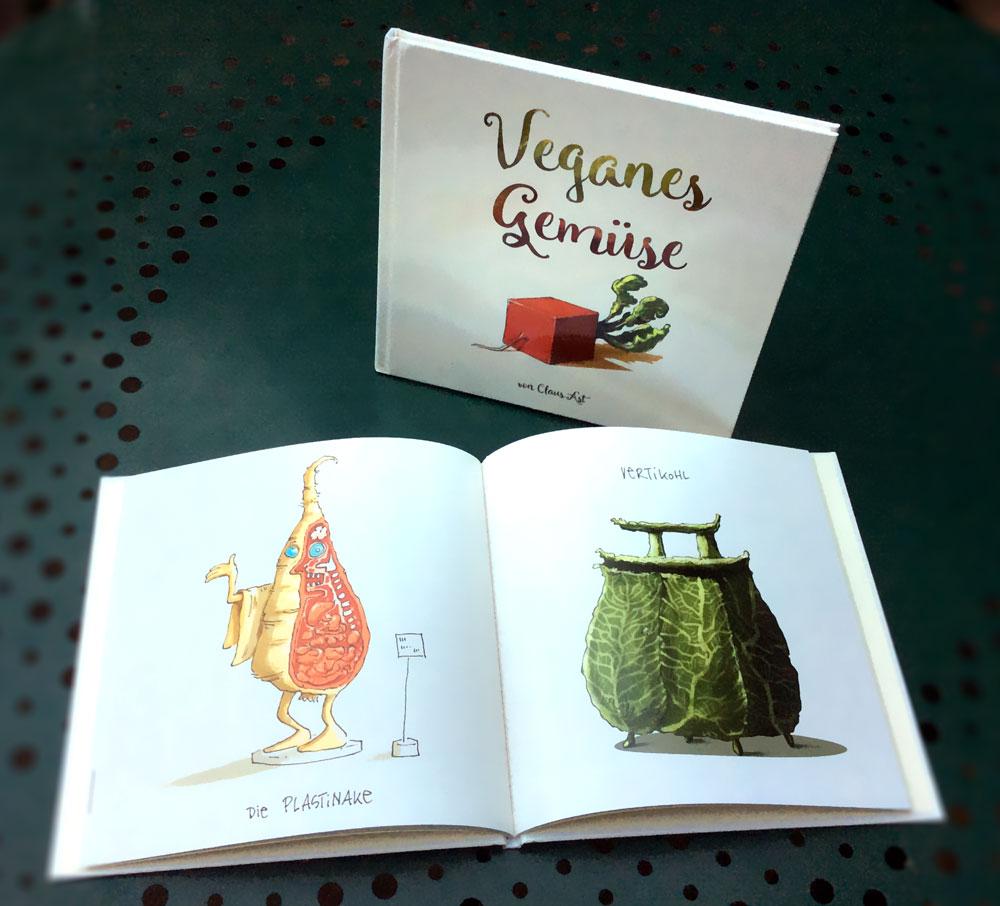 Veganes Gemüse - ein Buch