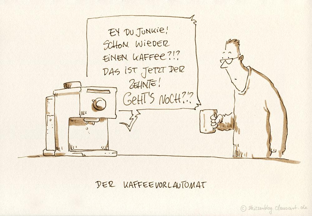 Kaffee giltet nicht als 3 Liter am Tag