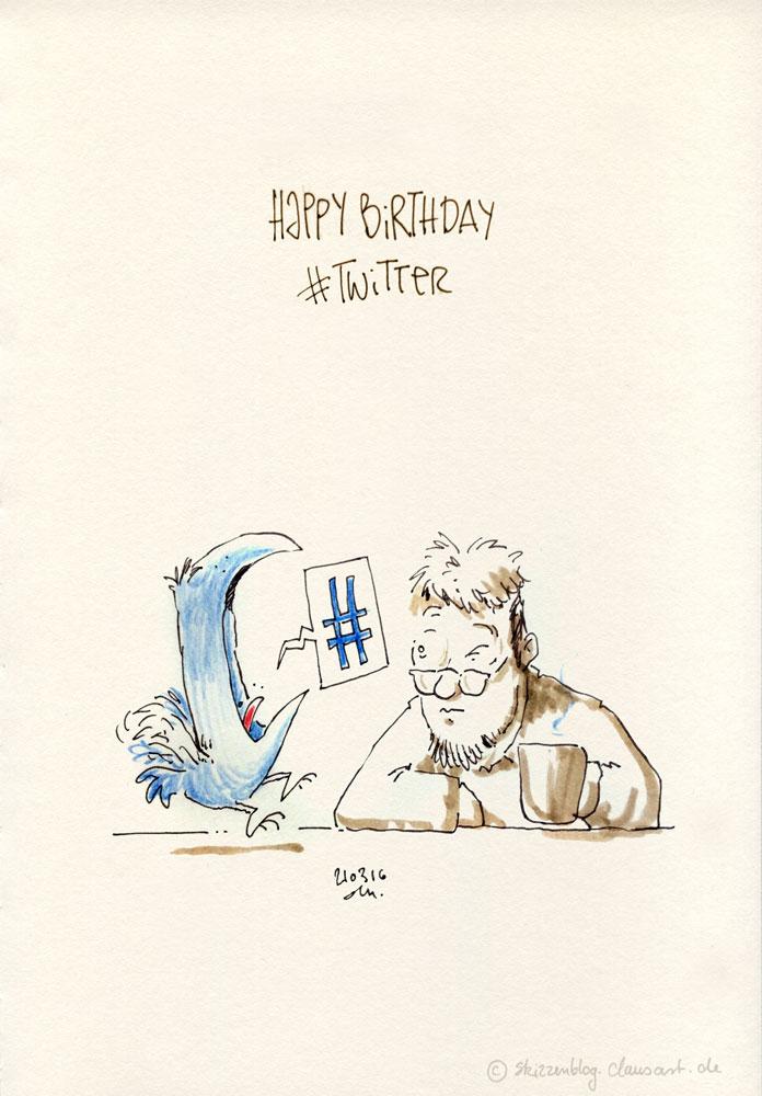 HAPY BIRTHDAY TWITTER!