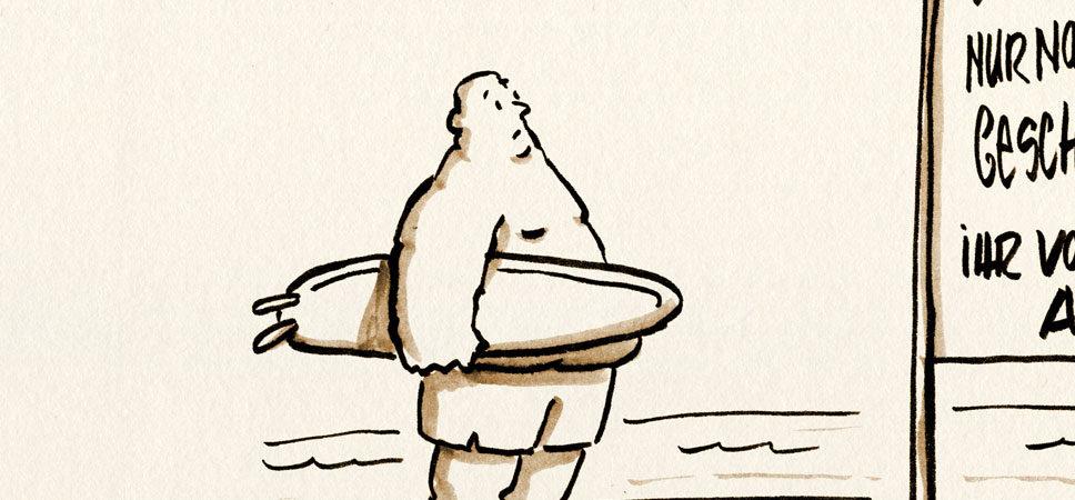 danach geht's wieder huiiii surfisurfi!