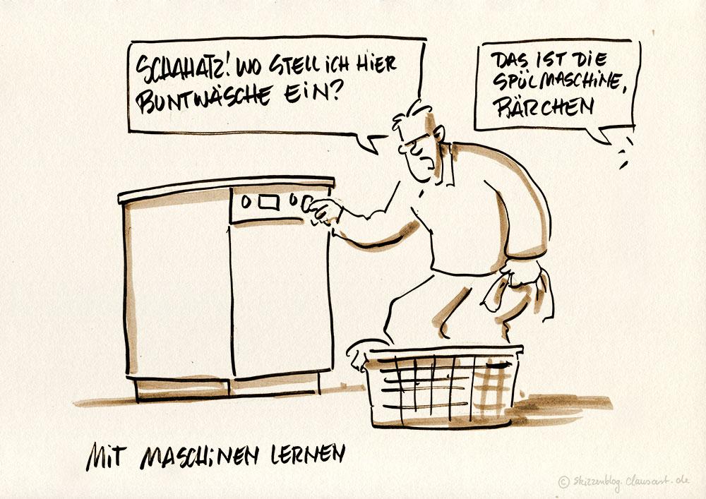 … und die Waschmaschine steht bitte wo?