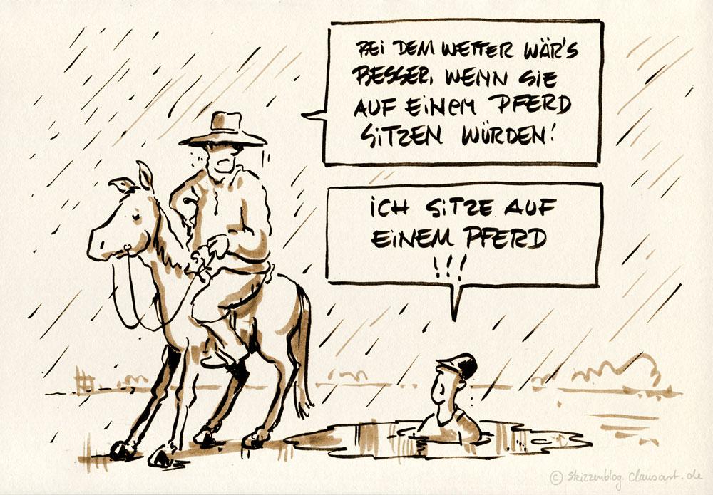 ach ja das glück der erde liegt auf dem rücken der pferde...