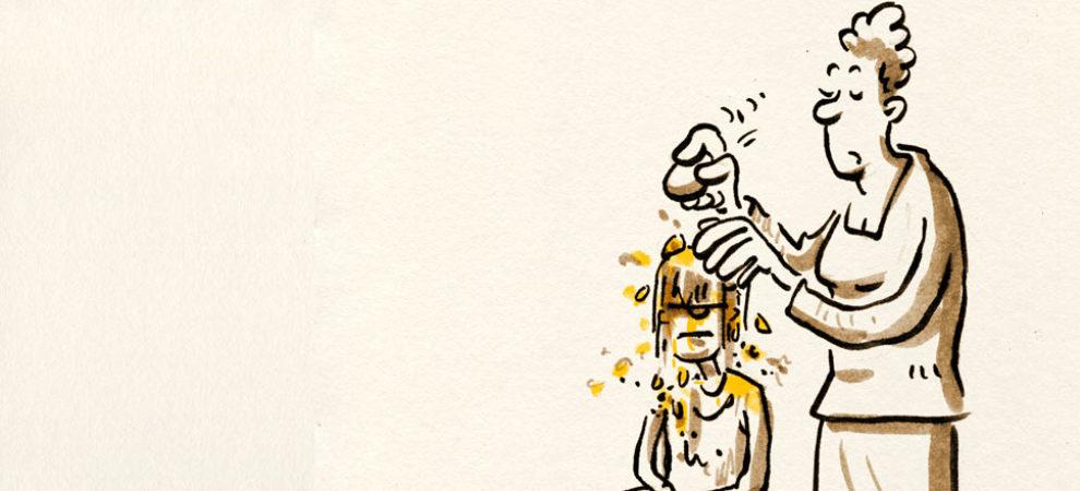 immer schön beim hühnermännchen um die ecke kaufen, gelle!