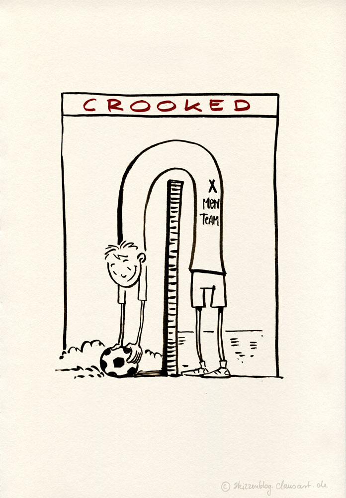 inktober 08 crooked