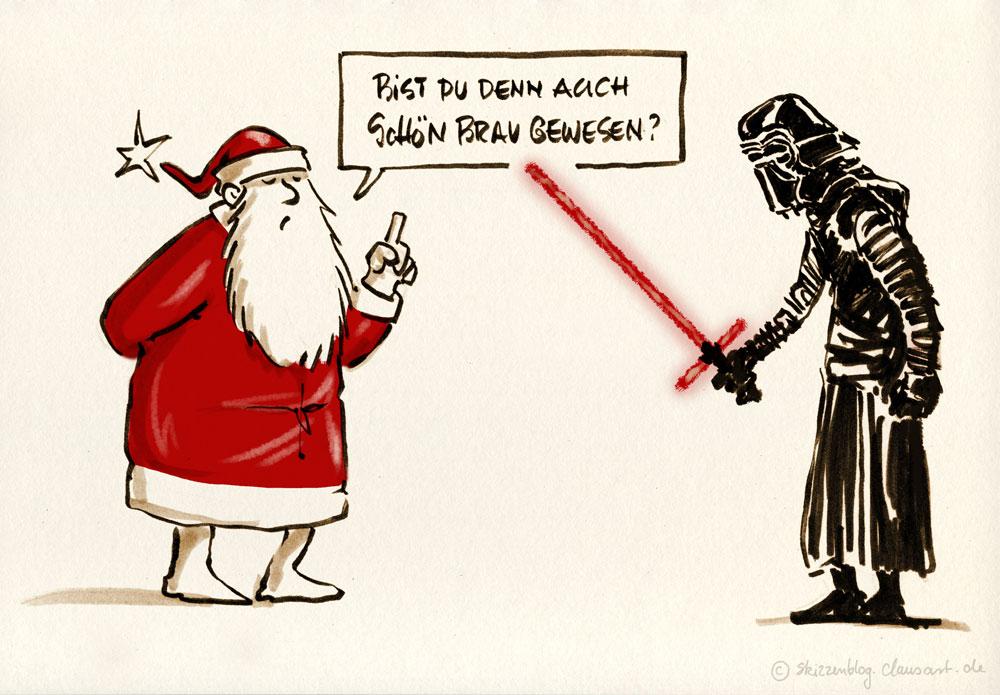 … sonst gibts keine geschenke!