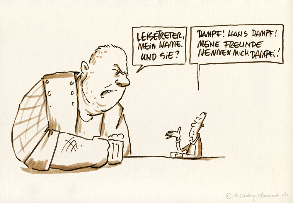 "#zurufcartoon ""Leisetreter"" thanx @gimpelgesang"