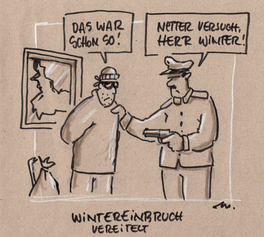 "#zurufcartoon ""Wintereinbruch"" thanx @mi69cha"