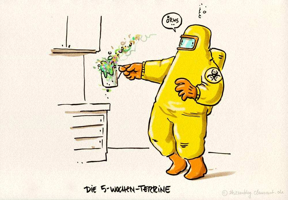 """#zurufcartoon """"5 Minuten Tasse"""" thanx @ulktante"""