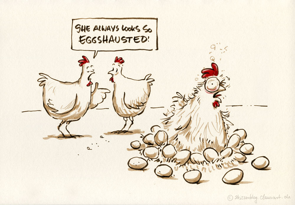 always eggsaggerating!