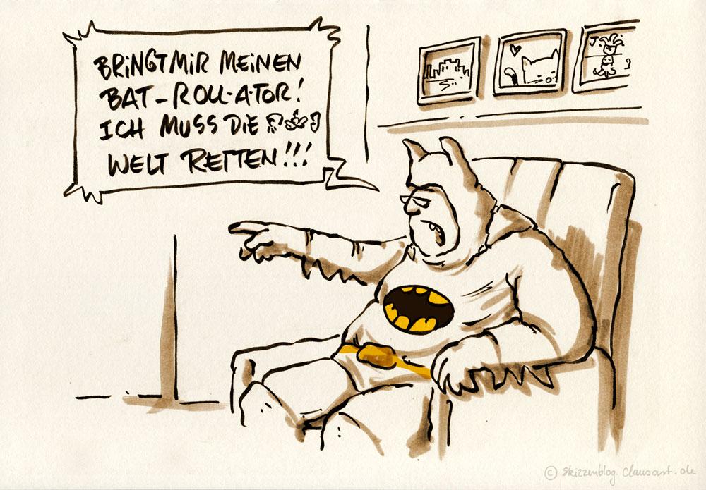 Bruce Wayne, *30.03.1939, Gotham City