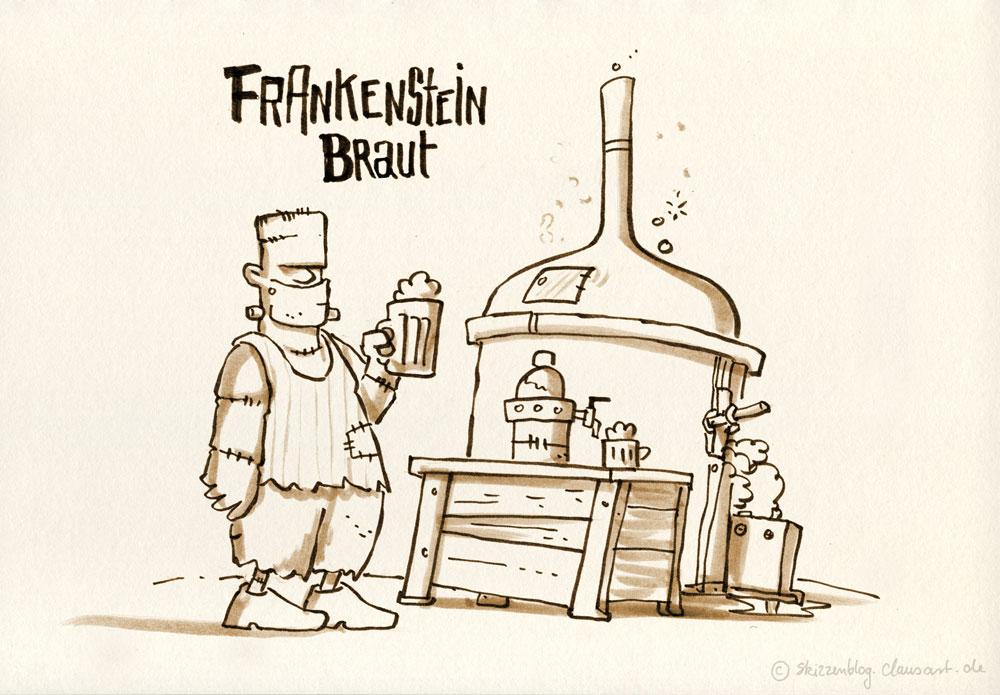 mit Frankensteins Kraut!